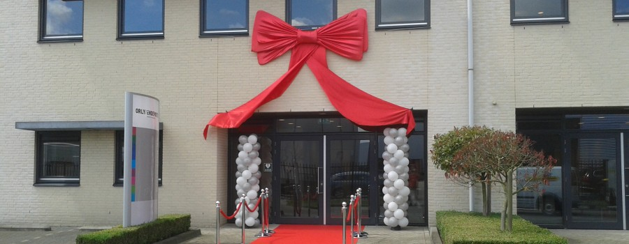 opening met ballon decoraties