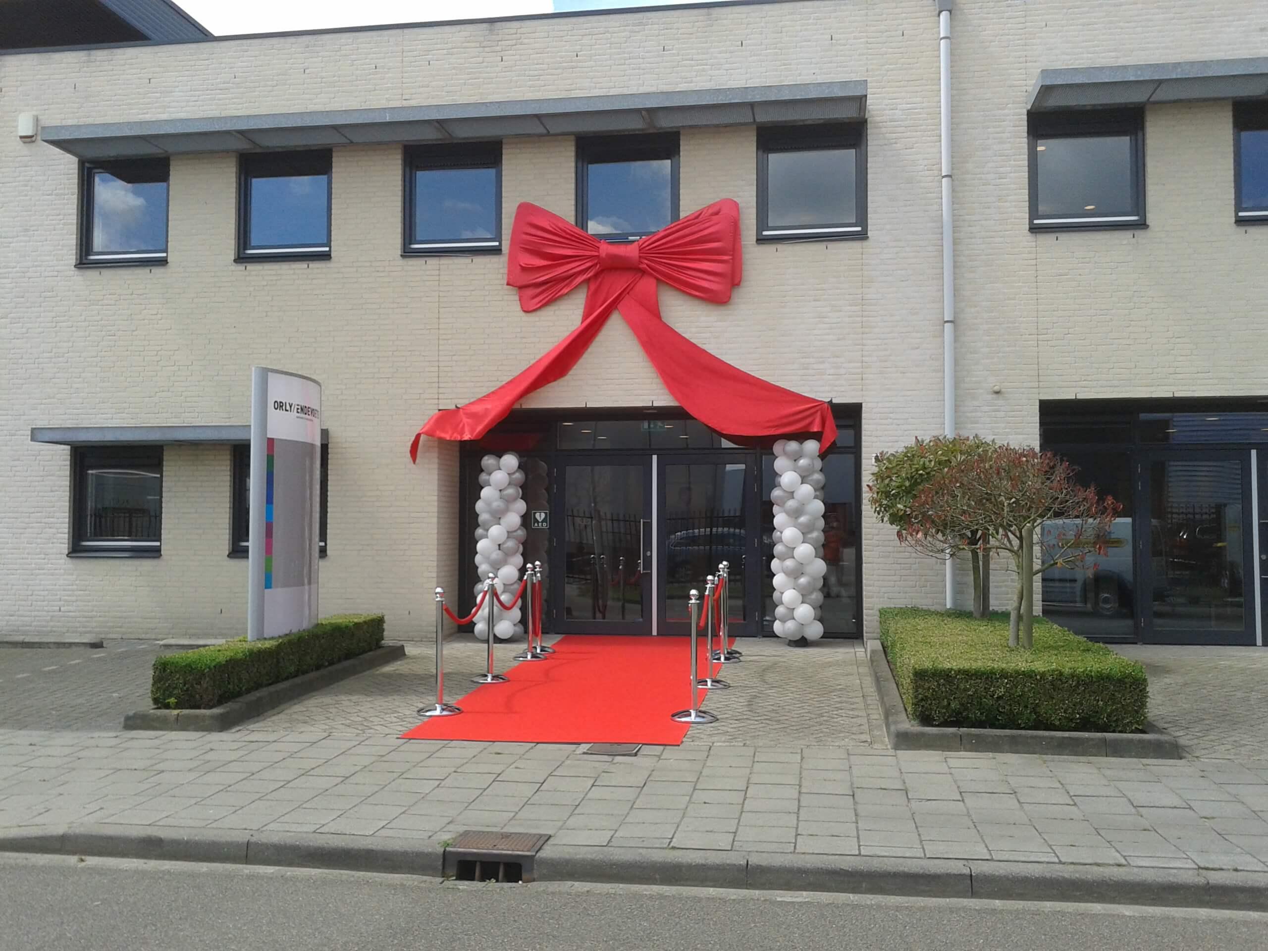 opening met ballon decoraties