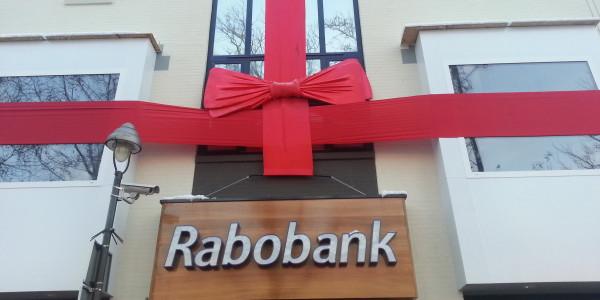 grote strik Rabobank Apeldoorn