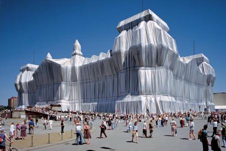 Reichstag - gebouw inpakken